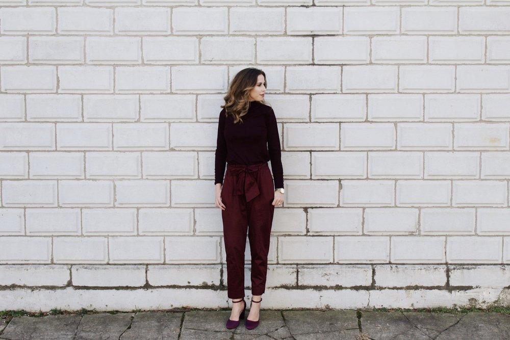 Monochromatic Outfit | https://www.thesimplisticchic.com/