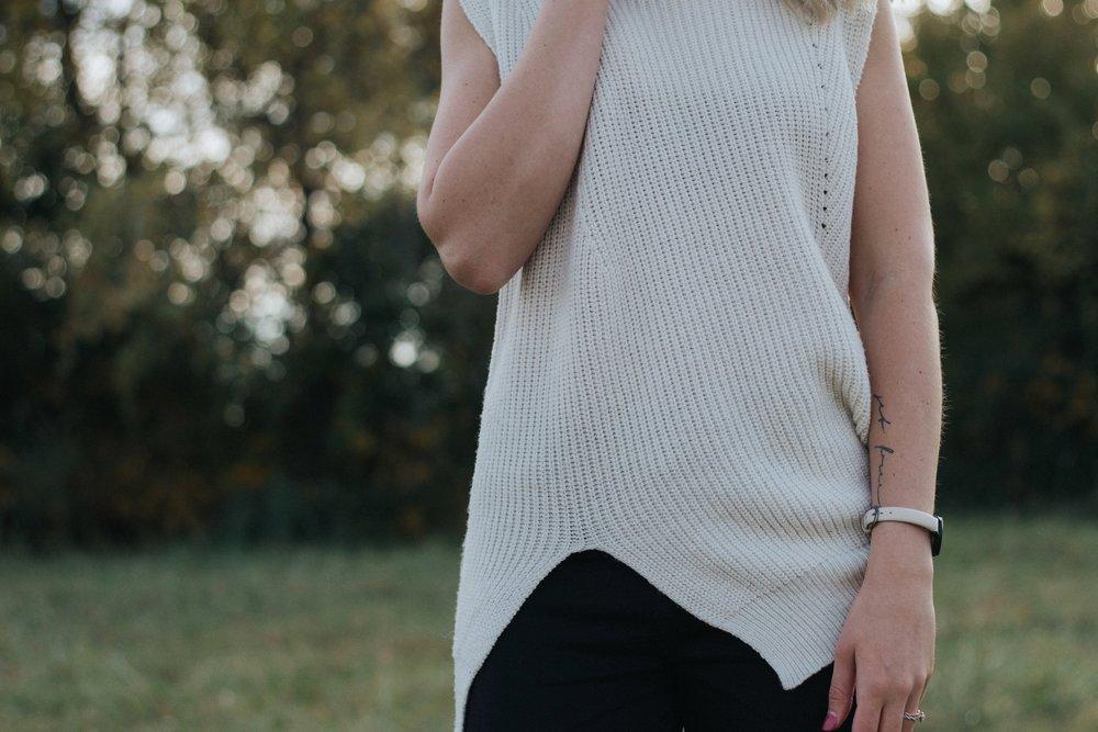 Cream Sweater | The Simplistic Chic