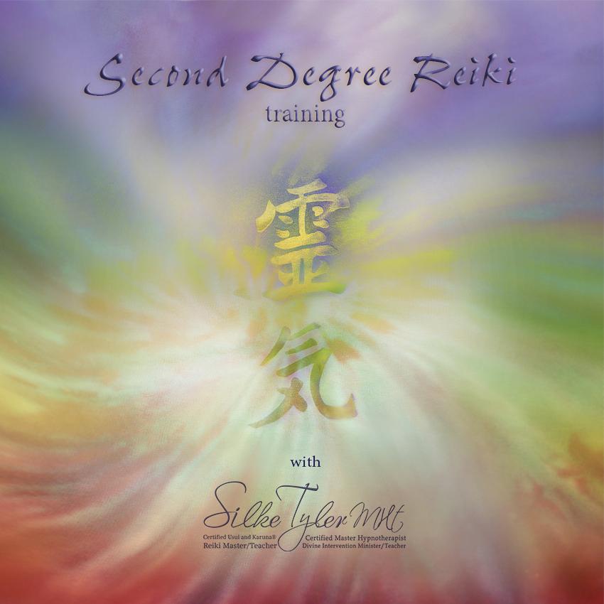 Silkes Art Second Degree Reiki Reiki 2
