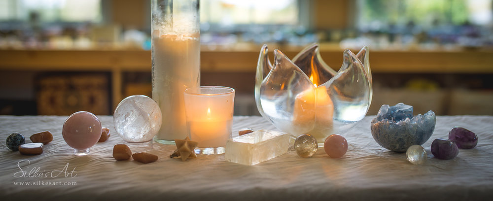 Setting Sacred Space for the Full Moon
