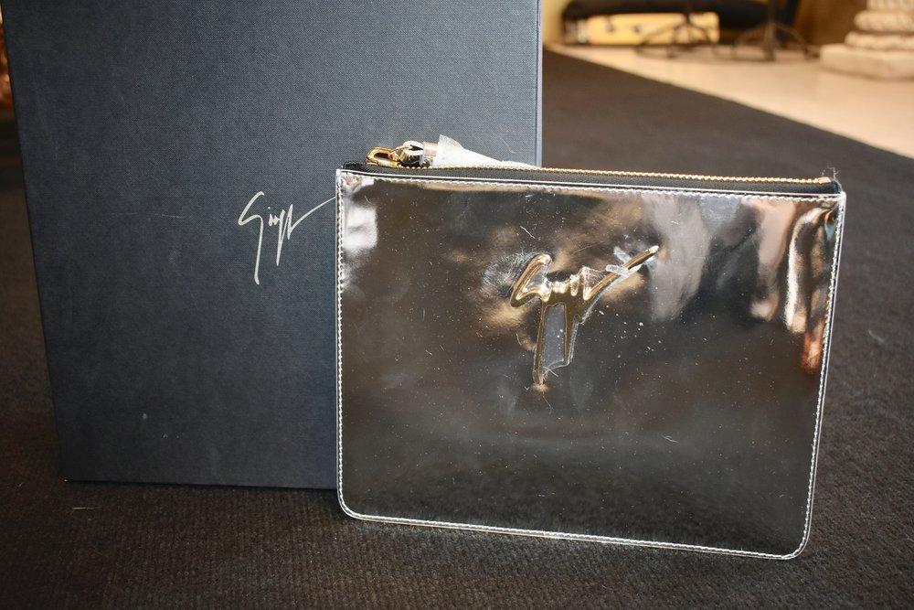 Giuseppe Zanotti envelope bag