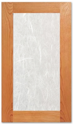 Shoji Cabinet Glass Insert