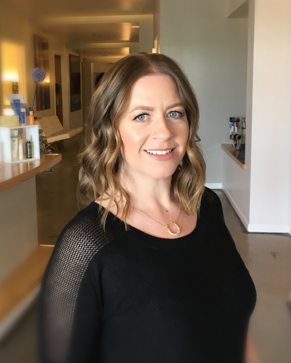 Megan - Megan joined NH2 in 2017. With a strong background in elevated customer service, Megan handles the daily front-end operations at NH2. Megan is detail oriented and precise. Her love of beauty products and services lends beautifully supporting guests exceeding their beauty goals.