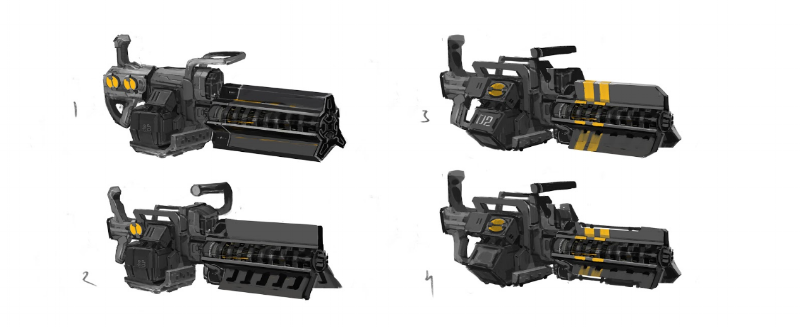 New Jericho Heavy Machine Gun.