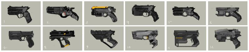 New Jericho Pistol concepts.