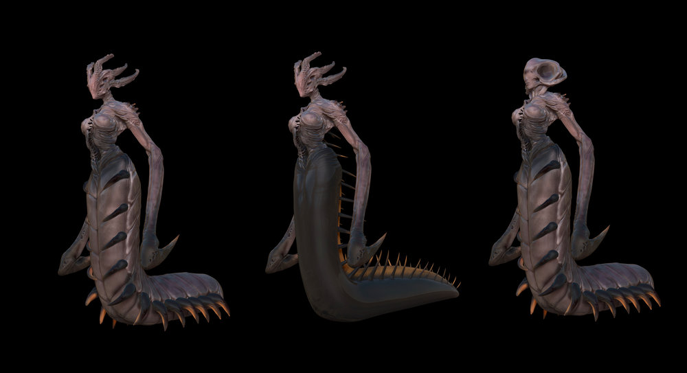 A small selection of the Siren mutations