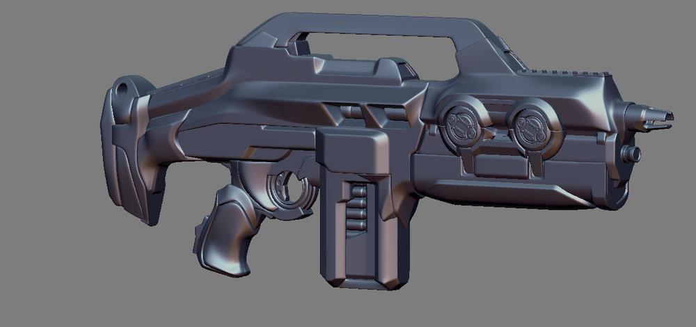 Phoenix Project Assault Rifle model