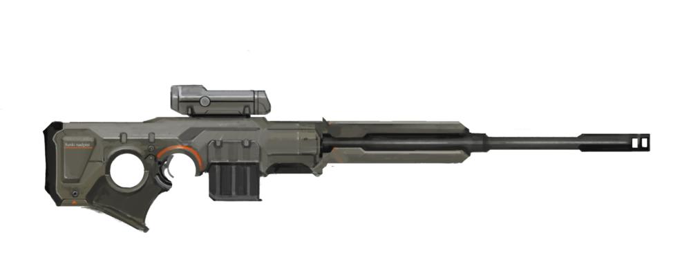 The Phoenix Project Sniper Rifle concept