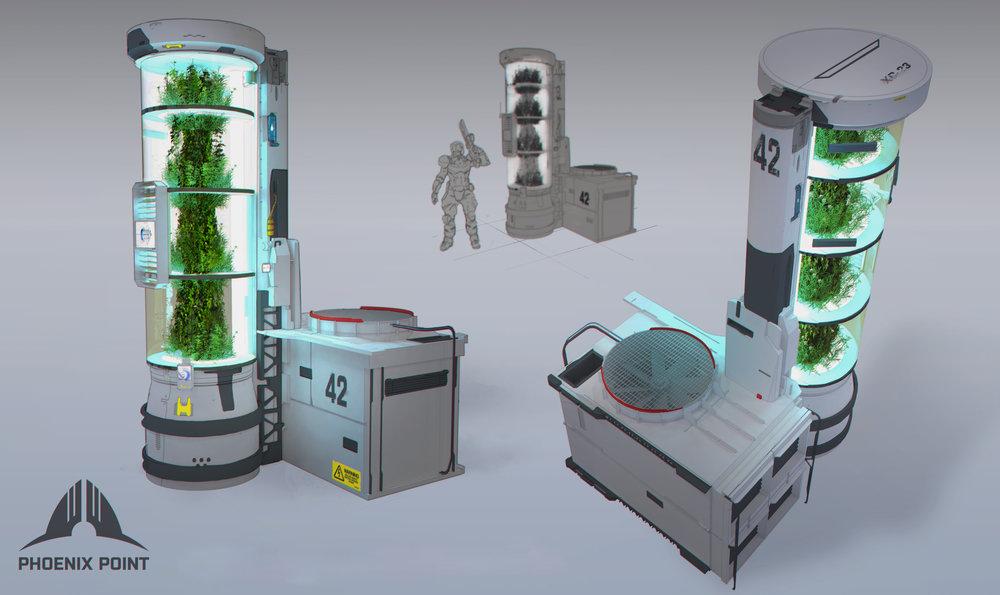 One last hydro vegetation chamber