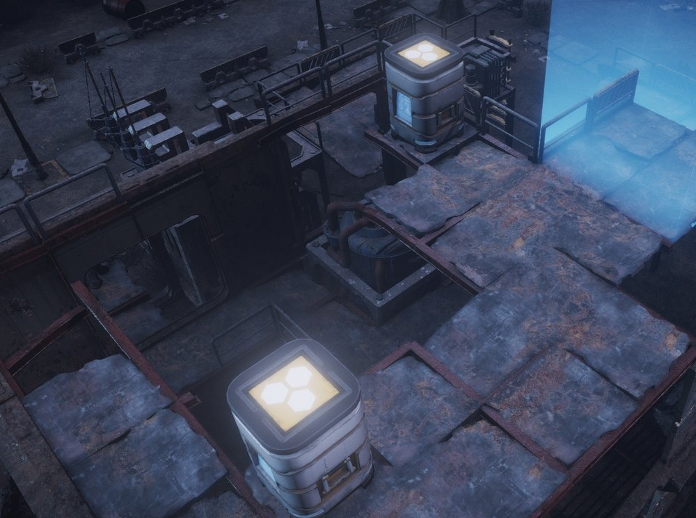 You will need to move fast to secure any resource containers before the enemy destroys them