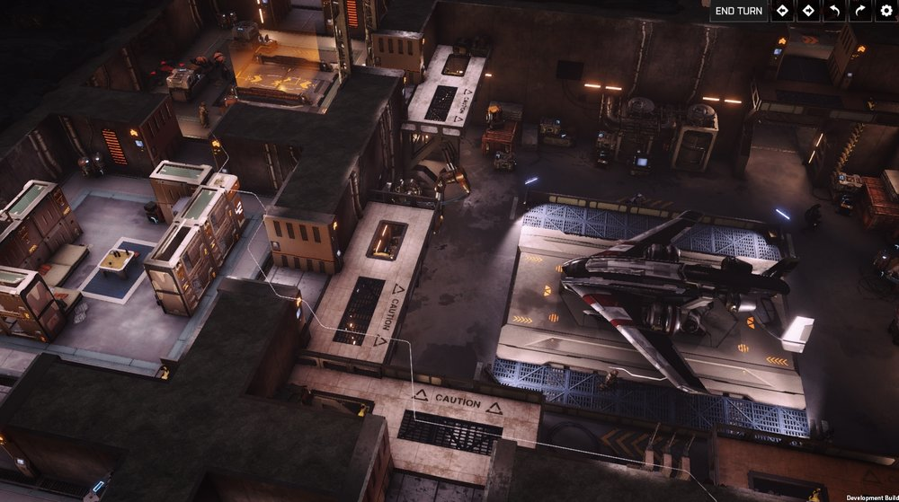 Combat in Phoenix bases takes place on multiple levels