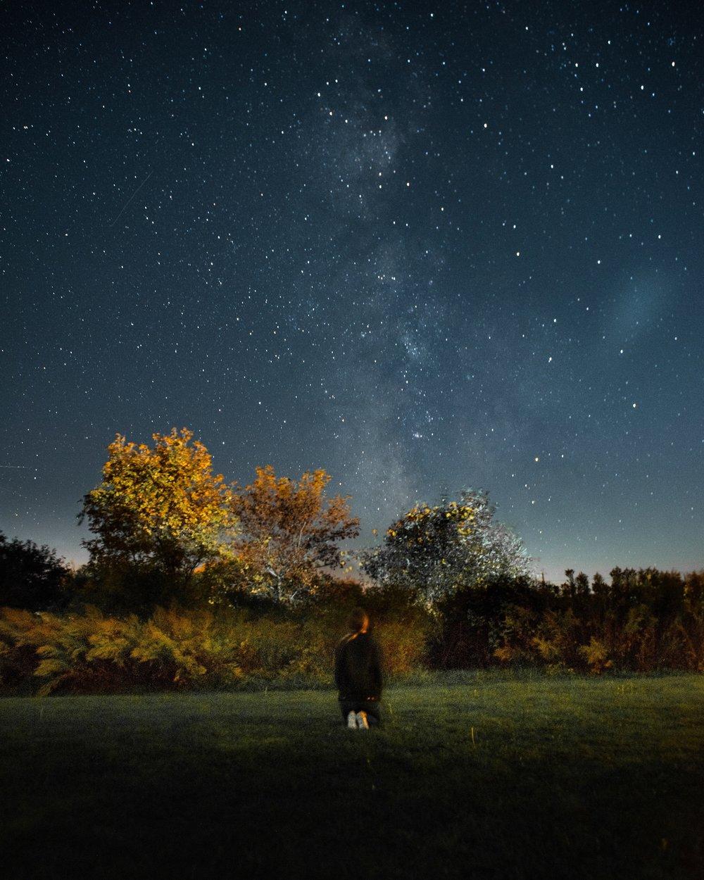 H I G H L I G H T - We magically caught the Milky Way.