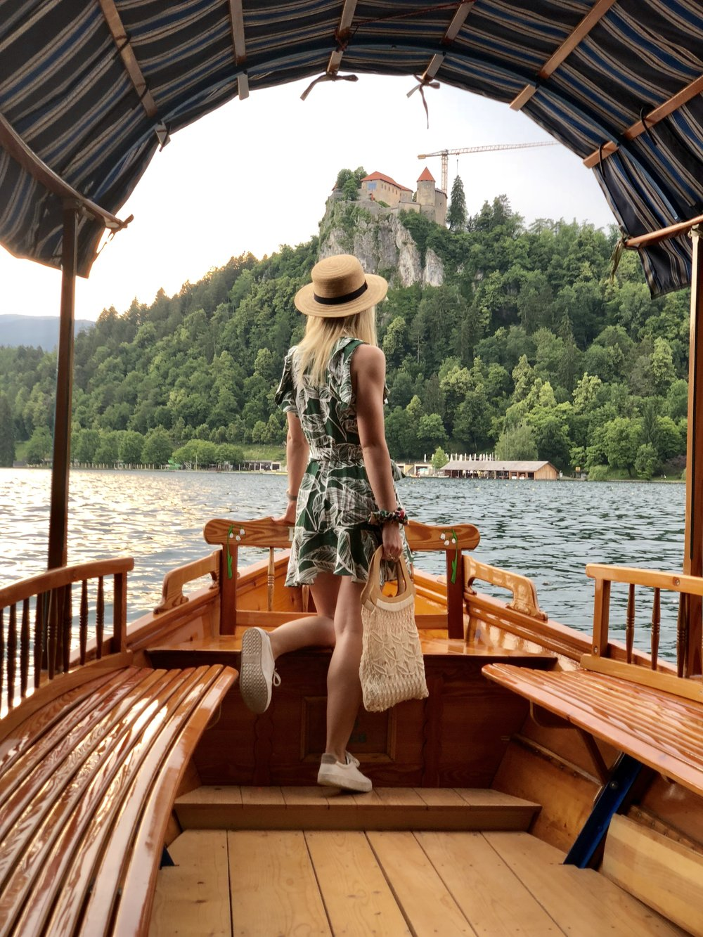 Canoe rides on Lake Bled are a must. The closer you can get to the actual island, the better.  From there, you can park your canoe and walk the 100 steps to the top!