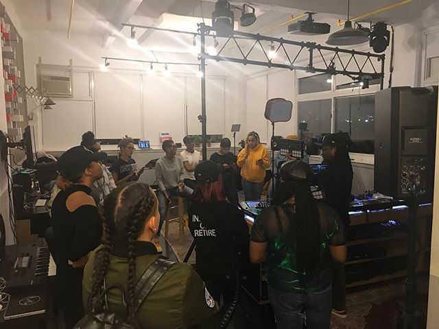 @manifesto_nyc was honored to support @highpowerparty family @gabsoul_ and her special She-J Mixer event hosted @serato last night. She-J Mixer brought together of growing community of NY DJs. Setup exclusively for Gyal dem! 🙏🏽 to Manifesto community partner @serato and @opmiller for hosting! 💥Congrats💥 to organizer @gabsoul_ , her co-host @tiffmcfierce and all the special guests.  @djmissmilan @djsaige @djstephcakes @djdanalu @niarasterling @jadalareign  @djnyla @ohsoty @kidnapsnap @djdluxe.