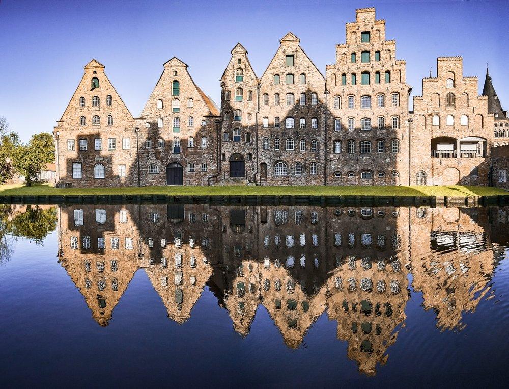 Lübecks beautiful architecture