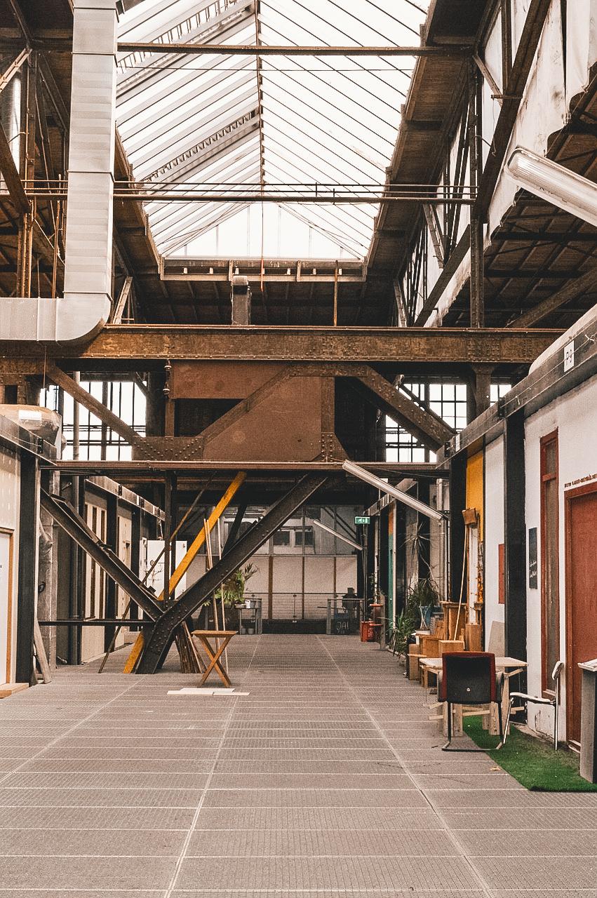 Warehouse in NDSM Amsterdam