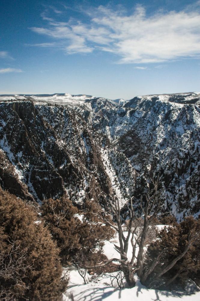 Ouray winter wonderland