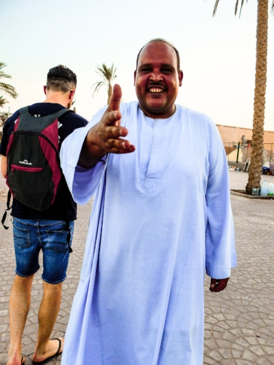 Ashraf - local egyptian in Hurghada