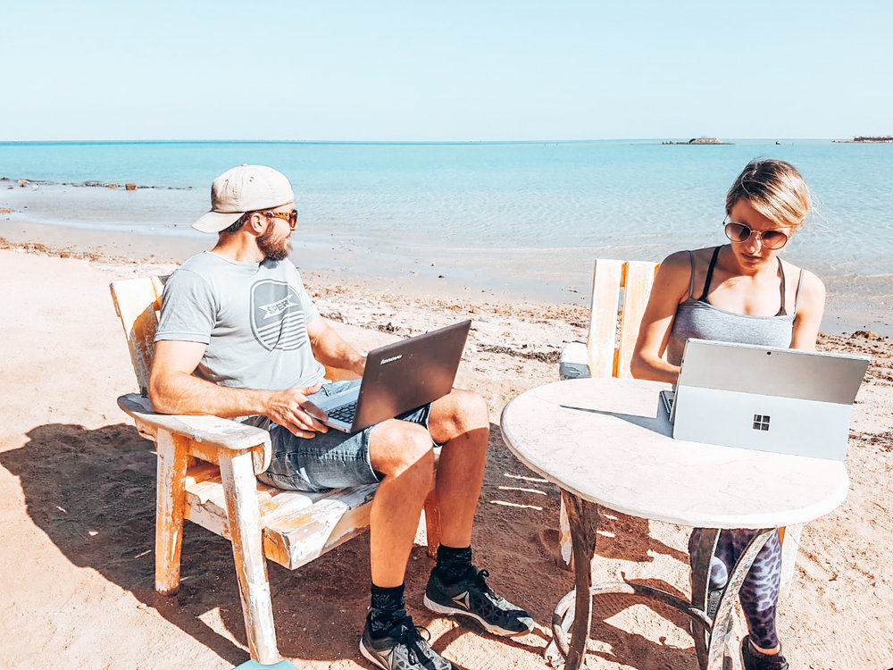 Workspace in HurghADA