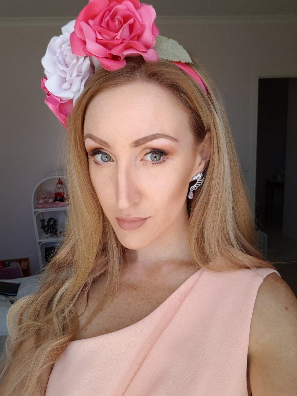 Allana Burns in our Elegant Filly Earrings