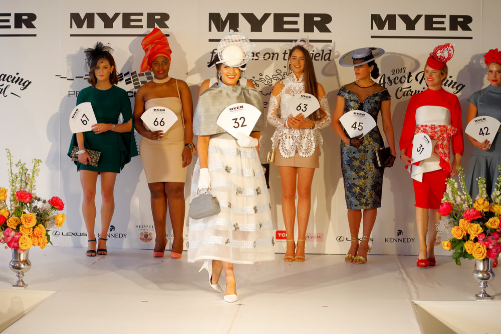 Serious FOTF entrants gave nods to traditional racewear with covered shoulders, midi lengths, gloves and sophisticated millinery