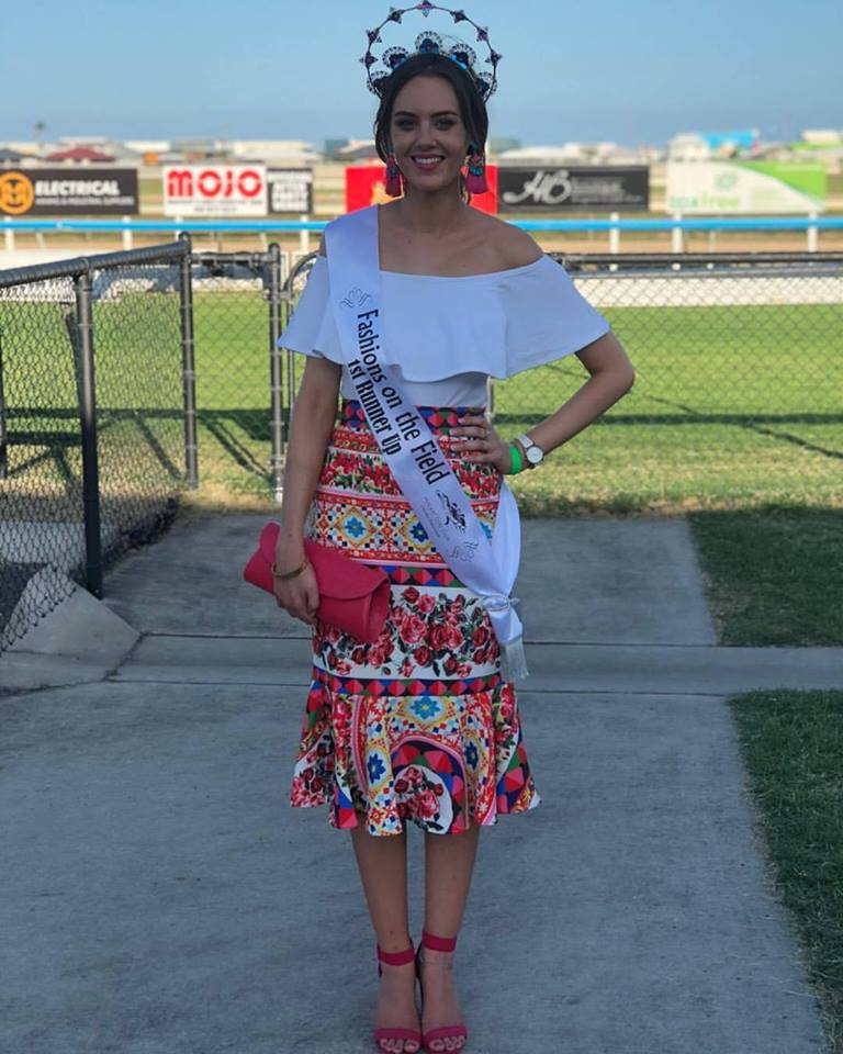 Kate Reid in our special order Italian Dreams mermaid skirt