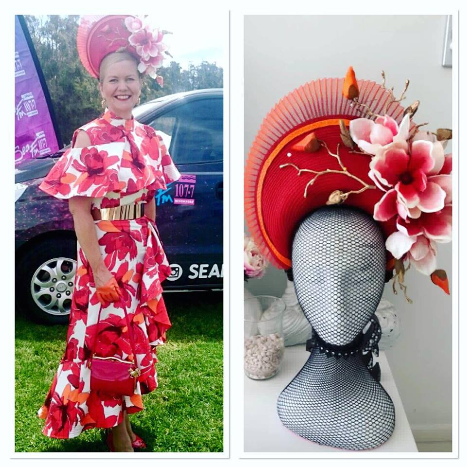 """""""Was so excited about making Jacqui this gorgeous piece once I saw her amazing fabric and it certainly didn't disappoint . A gorgeous outfit which certainly looked so perfect .. thank you so much Jacqui for allowing me to create this piece for you the end result was so stunning """" Maria Benck"""