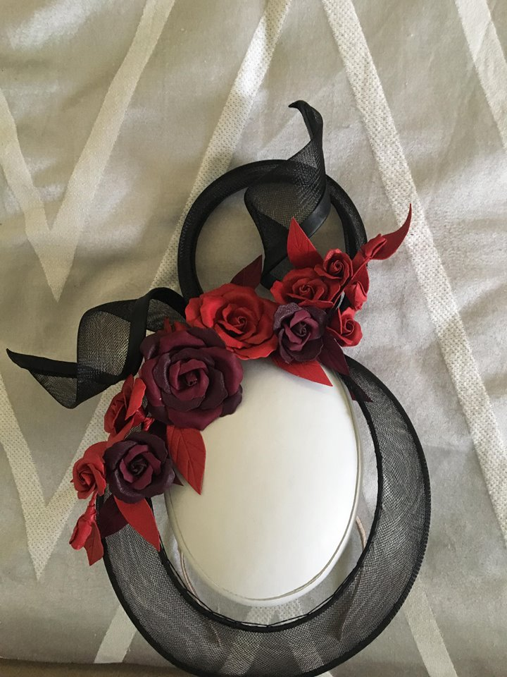 Sophie from Allport Millinery nailed this design!!!