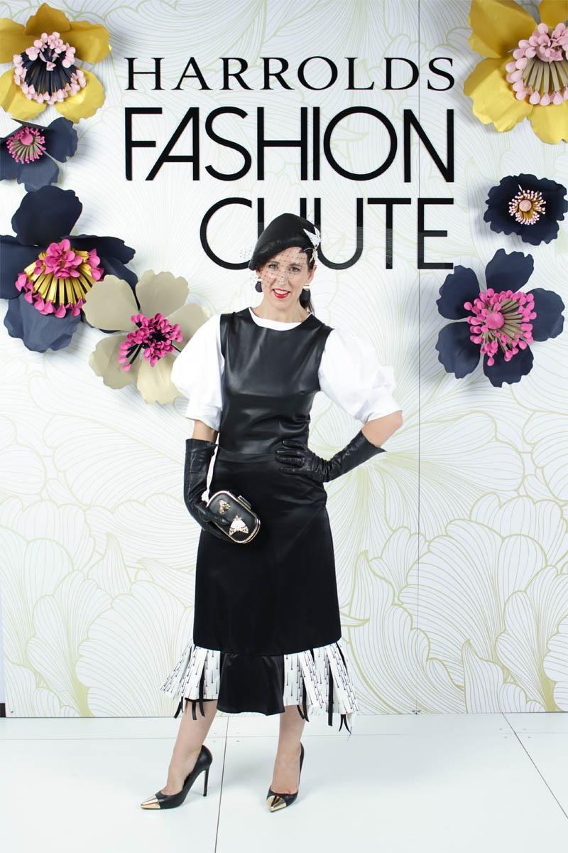 Brand Ambassador Sally Martin at Harrolds Fashion Chute April 2018