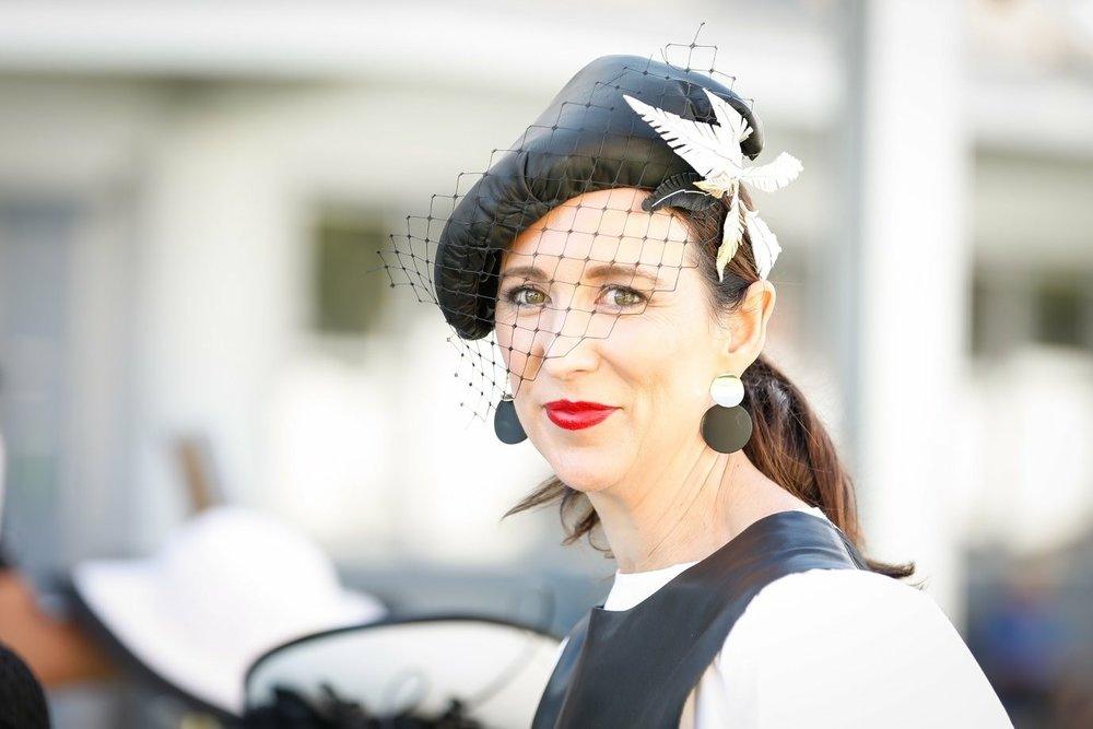 The rise of fashion chute style events mean the attention to detail the the competitor and the labels they wear go missed as demonstrated in this and the following photo shared by Sally Martin (Photo credit ATC races).