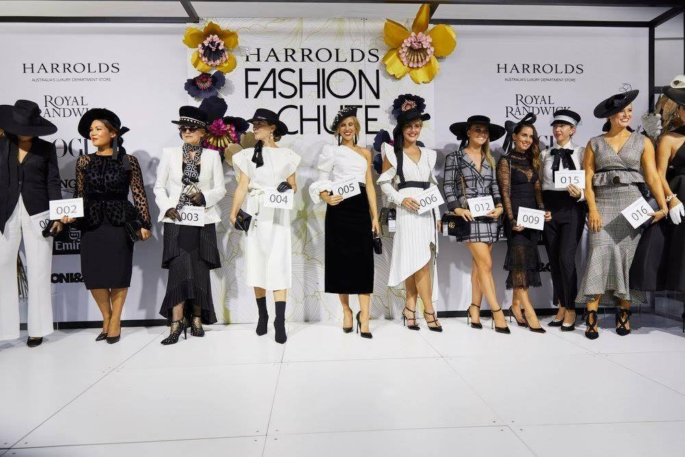 Finalists at the Fashion Chute