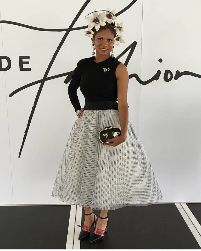 June Youngman looking sensational and taking out the win with our Royal Wings clutch
