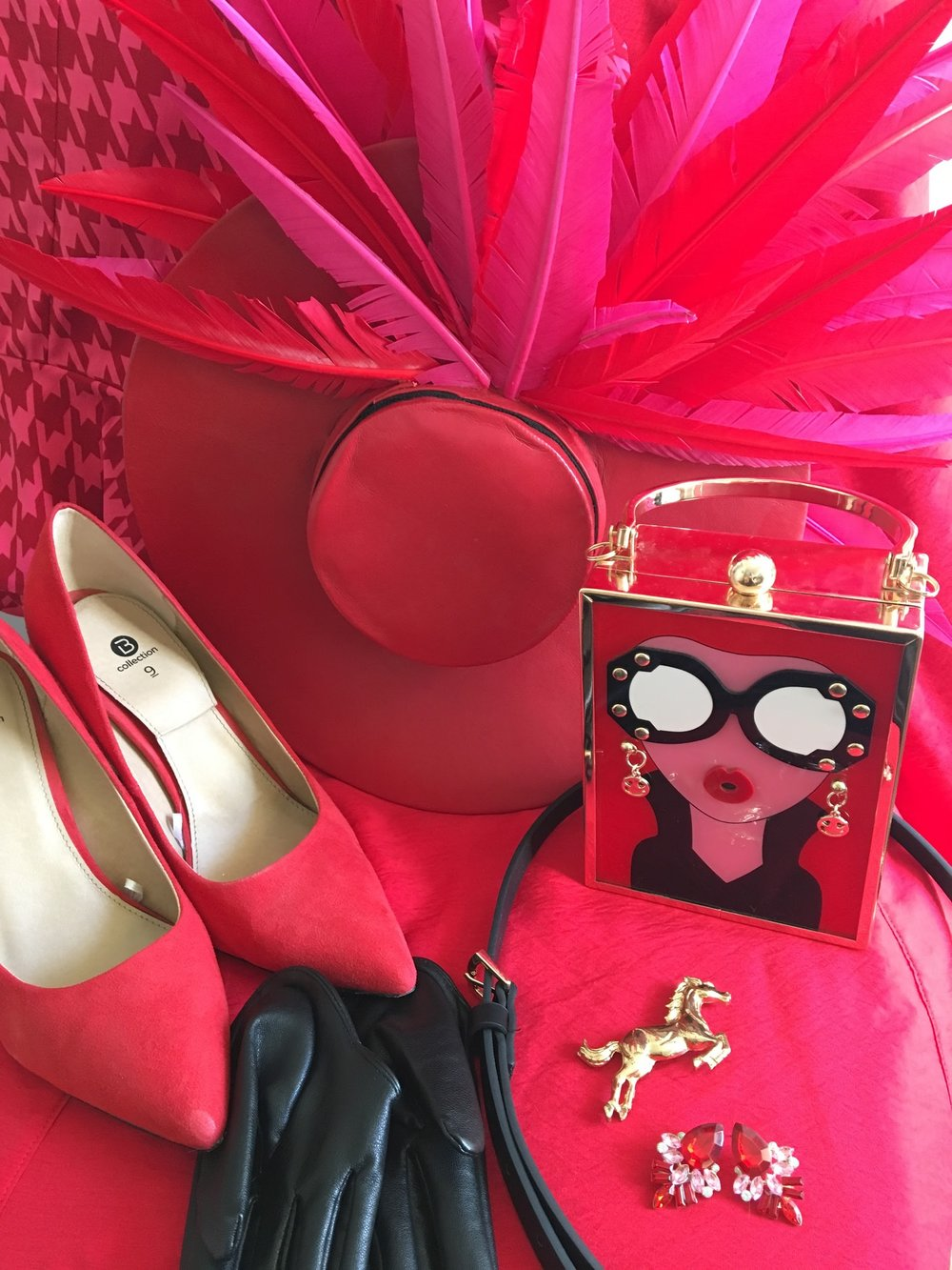 How good do these Best Dressed Accessories look with Sally's race day staples? LOVE