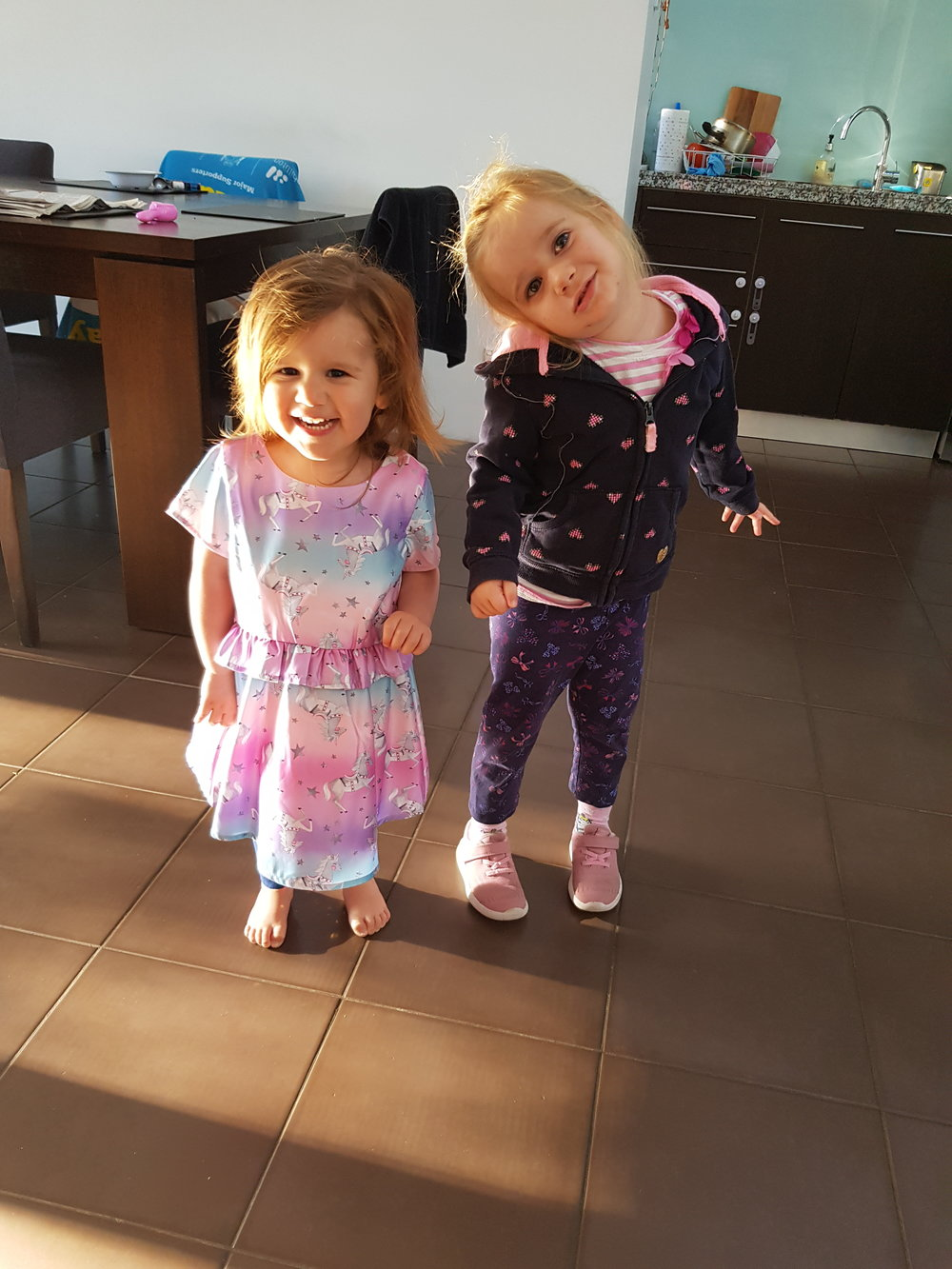 When your heart lives outside your body - my precious girls xoxo