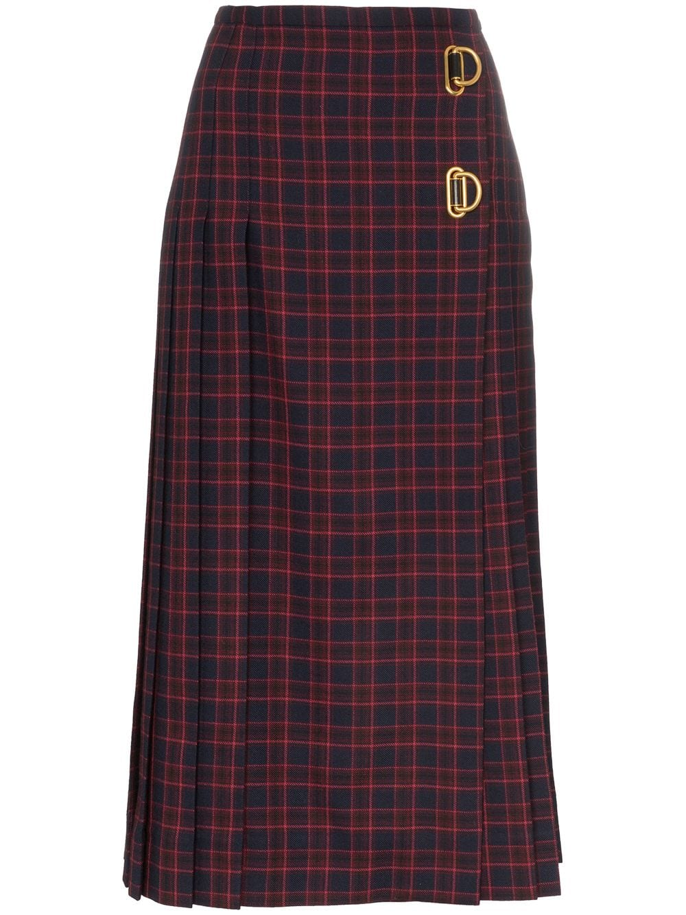 Burberry midi skirt from www.farfetch.com