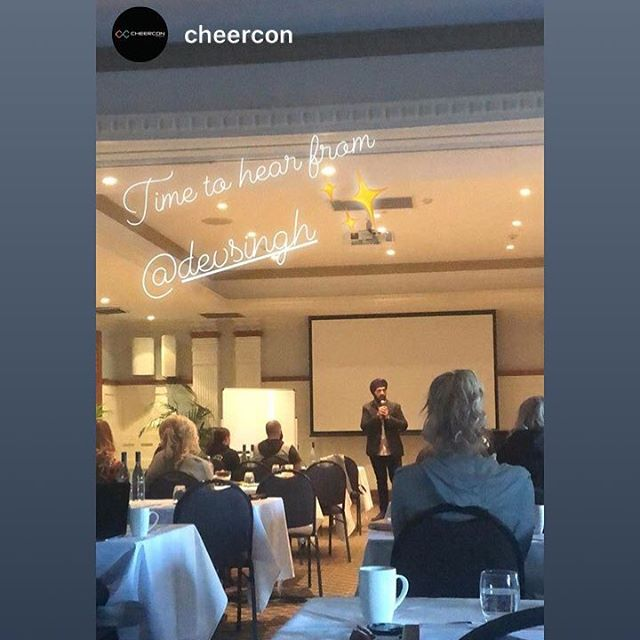 Such an honour to be a part of the amazing @cheercon community, and hopefully moved some people to take ownership of being the business leaders that they already are.  Owning this responsibility can be scary but it's fundamental to prime your neurology in order to attract the resources you need to fuel the creation of your legacy.  Whether you're in a fantastic growth spurt, or you're under pressure to make rent, taking responsibility to be honest about your role in your business, what you're problems are, and WHY you need to solve them will unlock the subconscious barriers of your mind, and you'll naturally pay more attention to effective solutions than the pain of the problems.