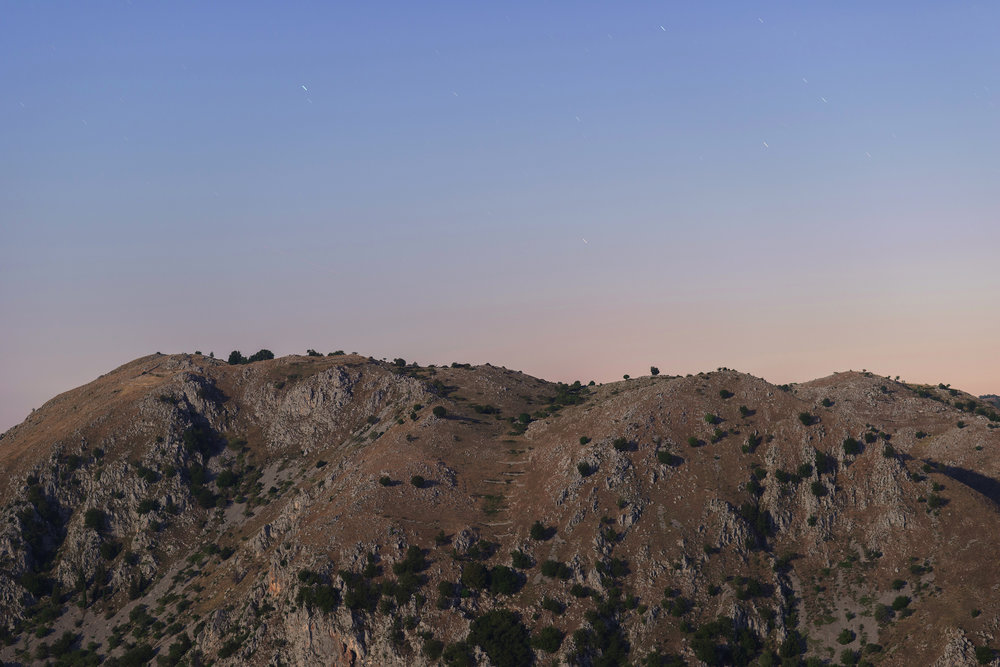 The Landscape of Gorges of Melfa in moonlight as seen from the Emiliano Nardone Observatory,   Frosinone, Italy. John Hooper ©2018
