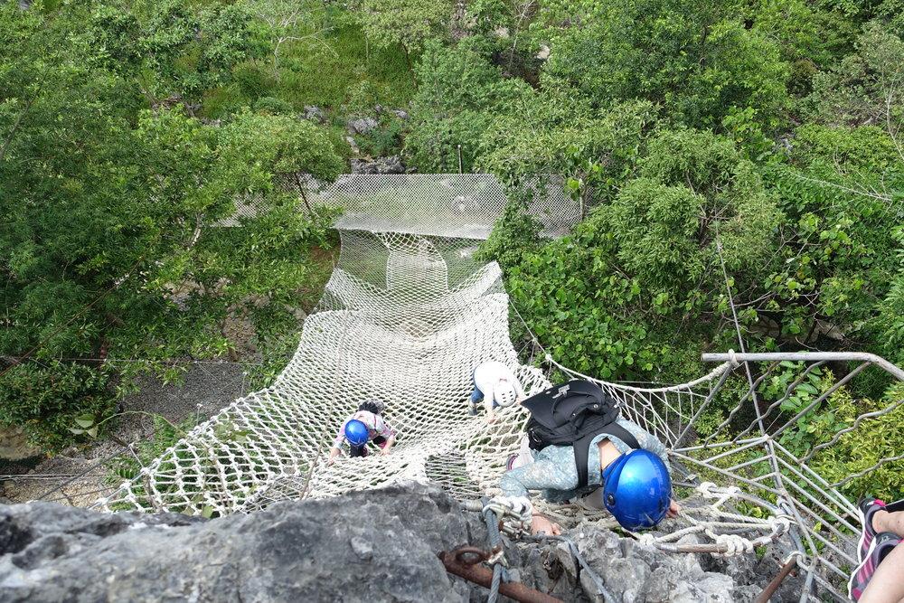 CLIMBING DOWN -