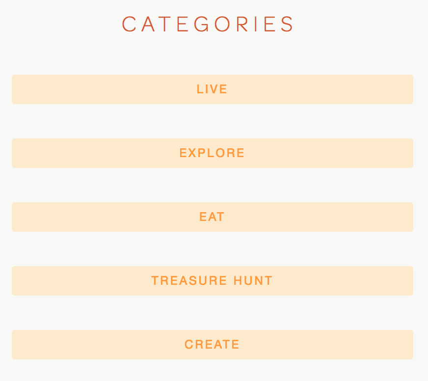 Blog Categories - For BETTER NAVIGATION