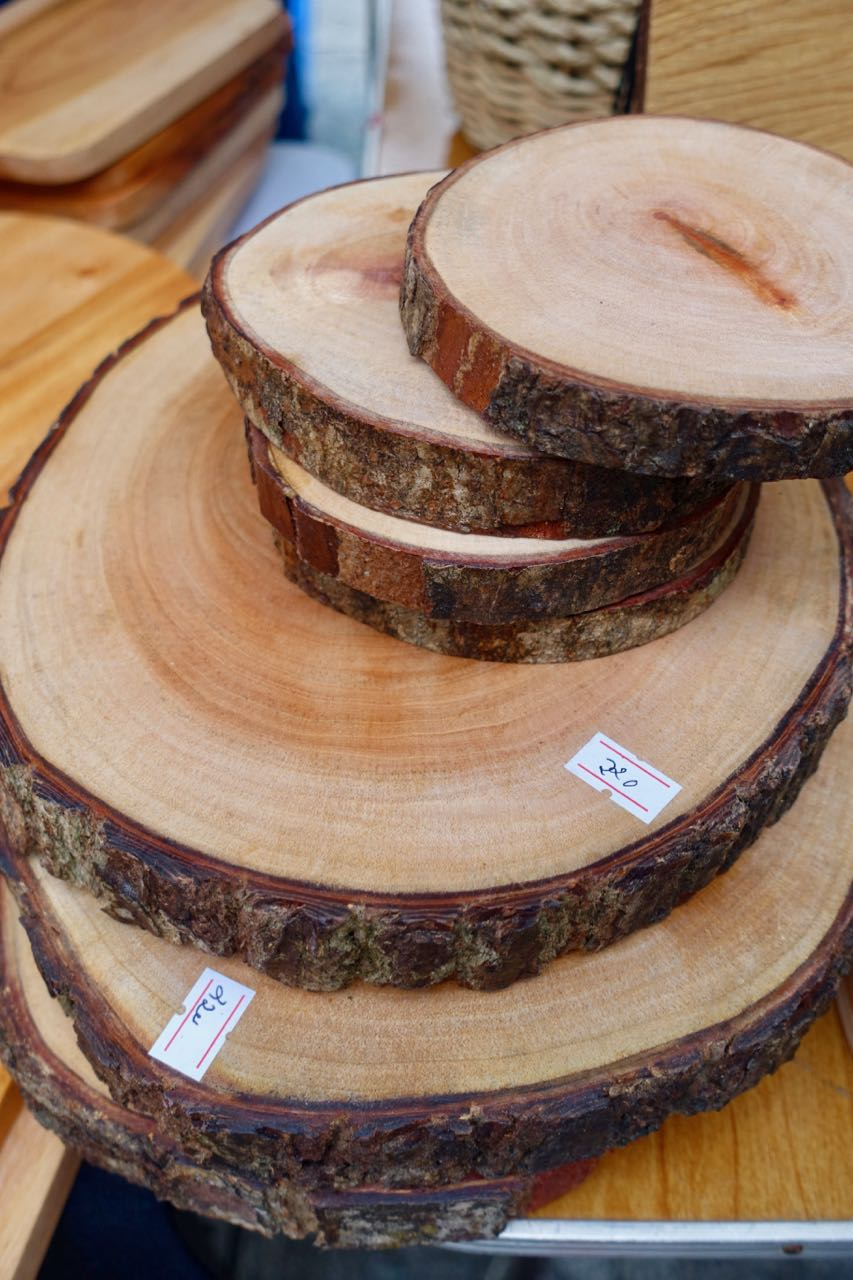 Wooden Platters - BY Grood Wood
