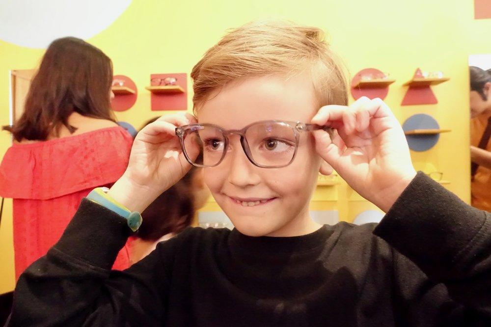 fitting glasses