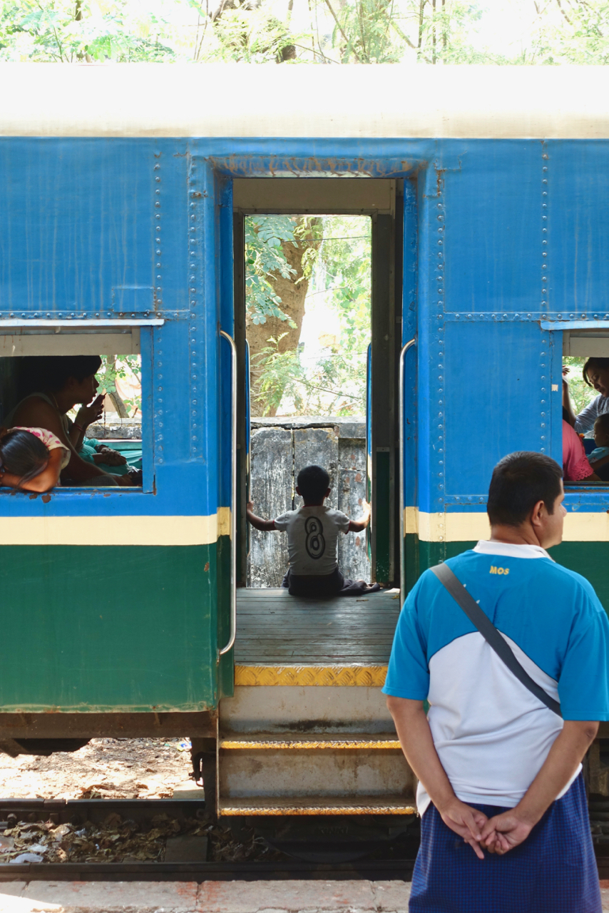 - Yangon Circular Train is a simple way to experience daily life of the locals.