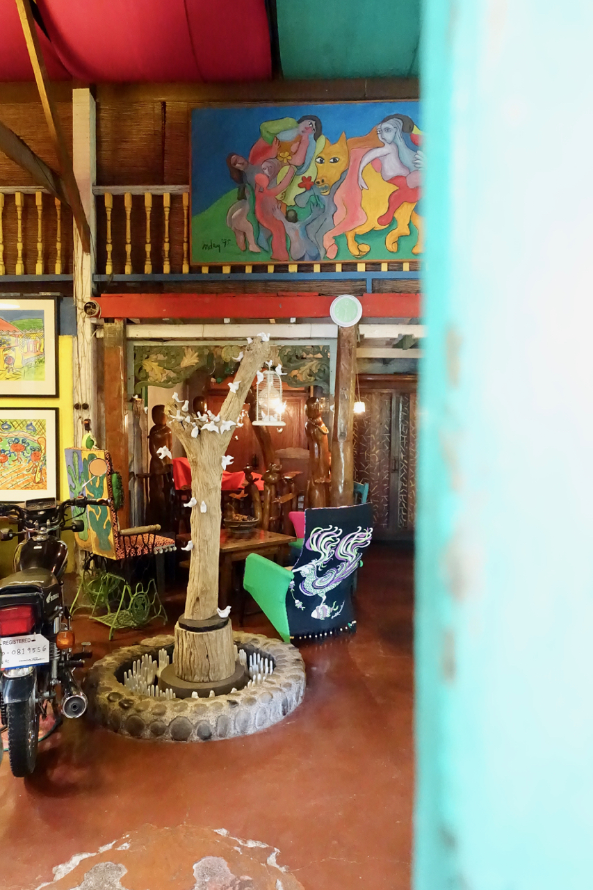 Cafe Inday - Located at maggies bungalow is an art cafe