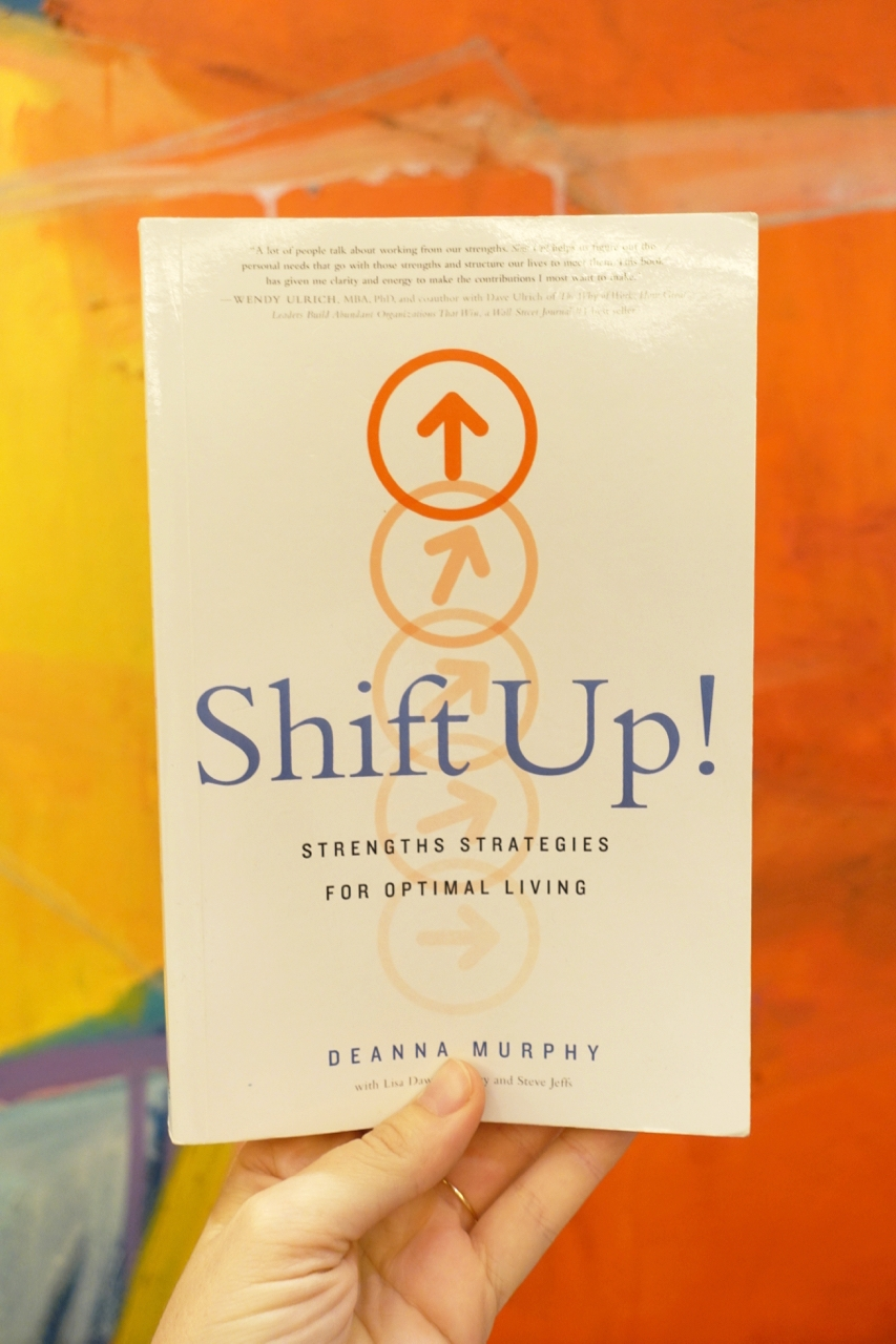 - Shift upthe irony is not lost on, i didn't read this book (yet) but attended the workshop with author deanna murphy