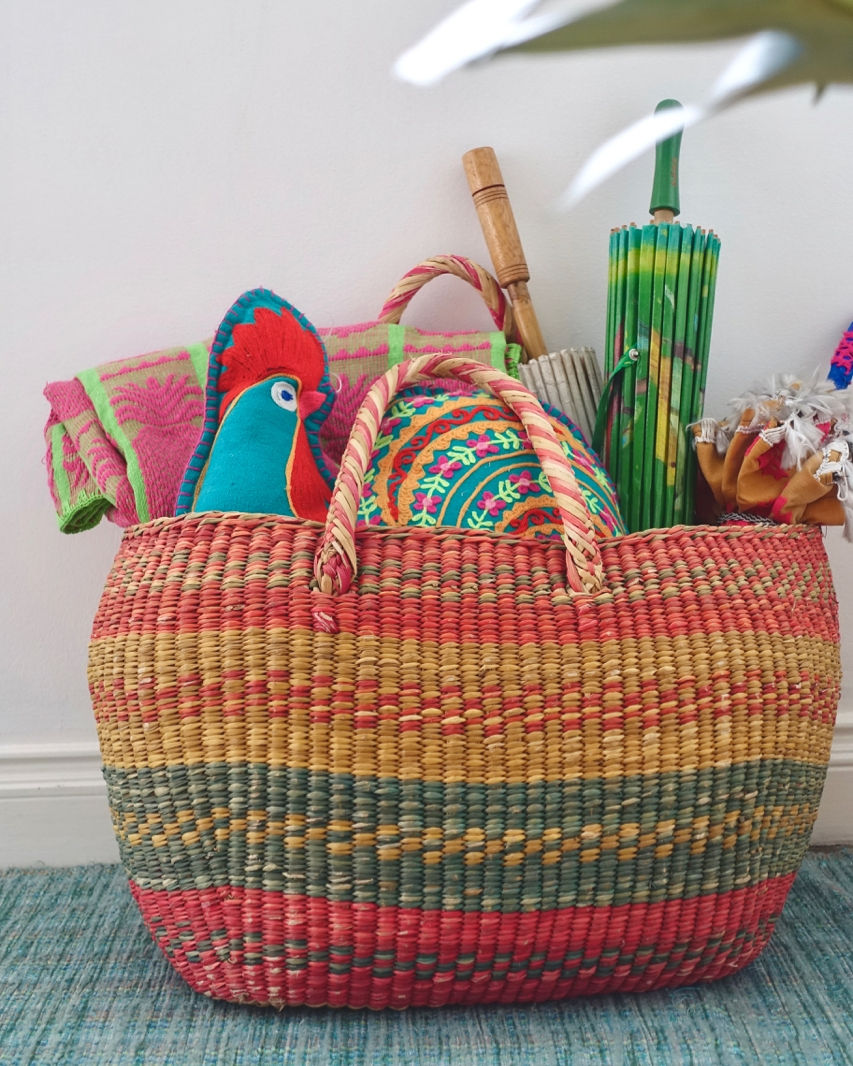 - i spent the last few years coveting my moms woven basket from her time spent in chile as young adult. apparently, the apple doesn't fall far from the tree. i was finally able to bring it home this summer to manila.