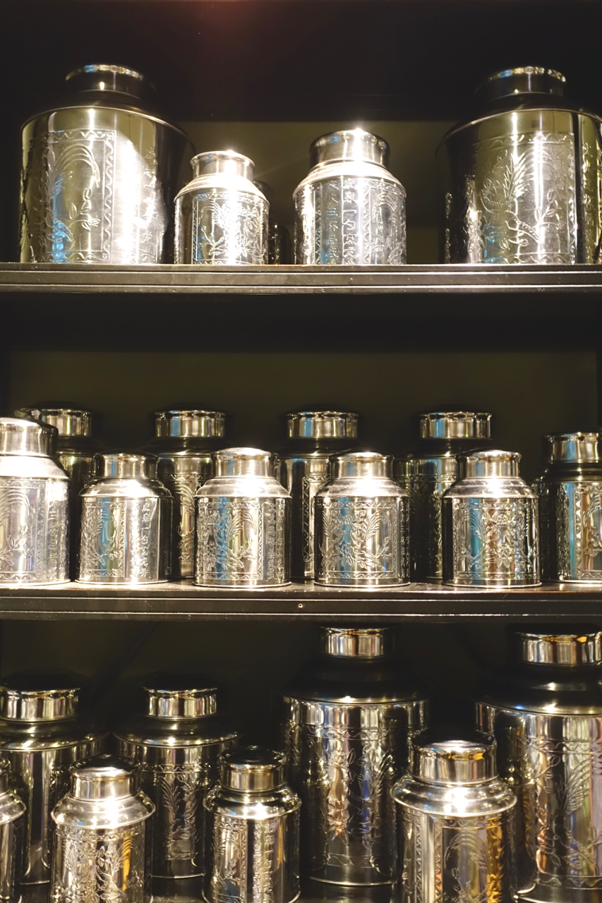 Tea Tins Abound -