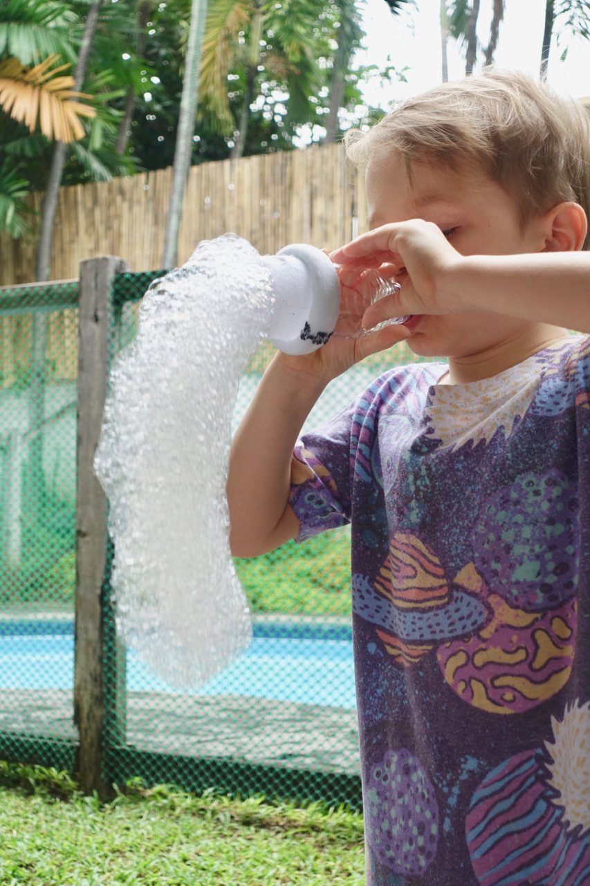 Soap Bubble For The Win! -