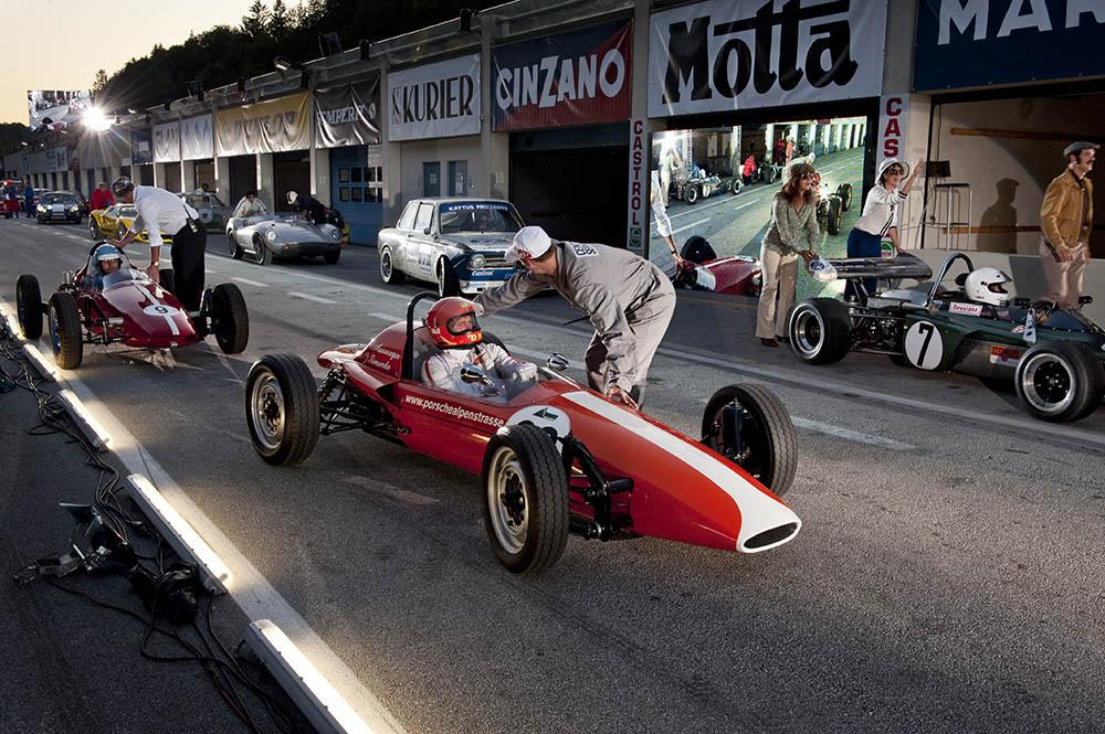 Jochen Rindt Rennfahrer Oper © Stefan Zenzmair