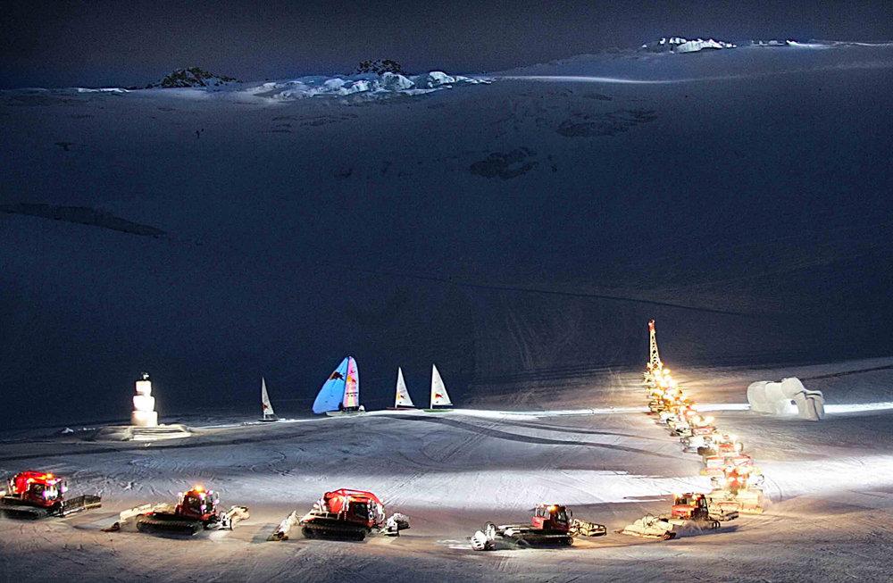 Traversing the Alps, © Ernst Lorenzi