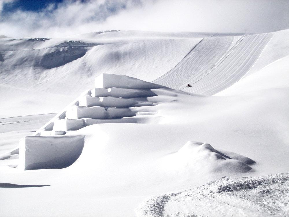 Snow like never seen before, © Bernd Uhlig